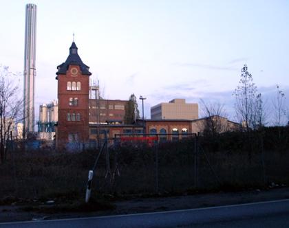 Industriegebiet - Cache Standort