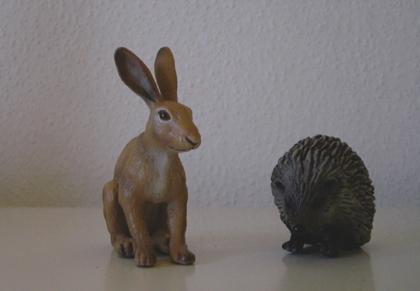 Frau Hase und Herr Igel - Travel Bugs