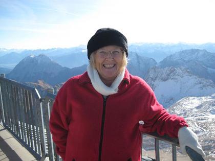 Pauline auf der Zugspitze - erstellt von Alan
