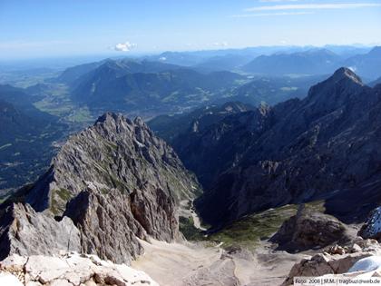Blick vom Gipfel - erstellt von GeoCacher Team Tragbutzi