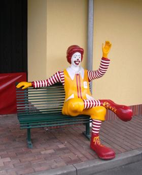 Mac Ronald mein Kaffe Freund