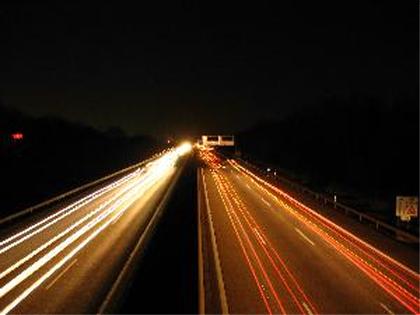 Travel Bug Henry - Blick von der Autobahnbrücke