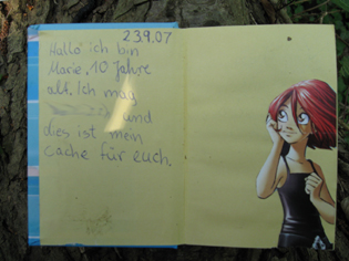 Maries GeoCaching - Logbuch