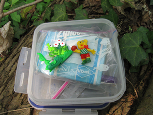 Maries GeoCache - Inhalt