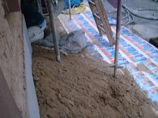 Baustelle - Grundsanierung Rückfront