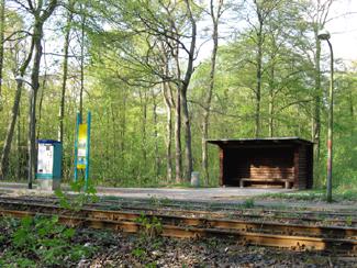 GeoCaching Tour - Waldhaltestelle