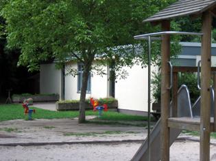 Kinderhort - Außengelände