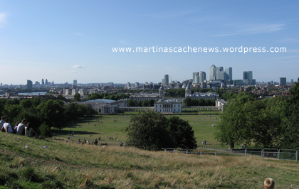 Greenwich Park - London - Blick vom Berg