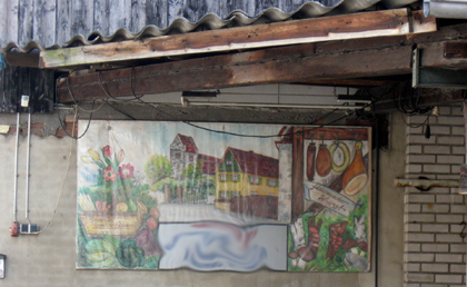 Wandmalerei - Multicache - Kirche
