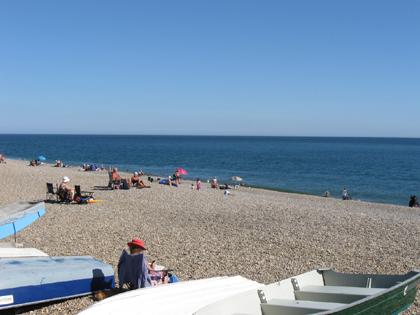 Lyme Bay nahe Sidmouth