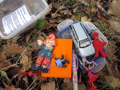 GeoCaching Box - Dose mit Krimskrams