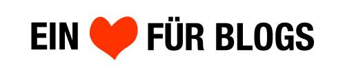 Herz fuer Blogger Logo