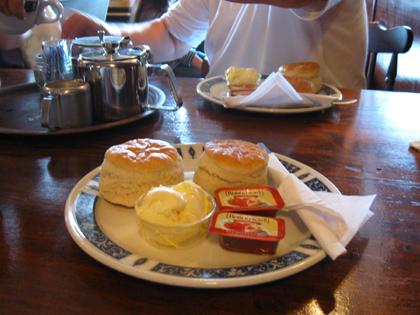 Cream Tea - Englische Zwischenmahlzeit