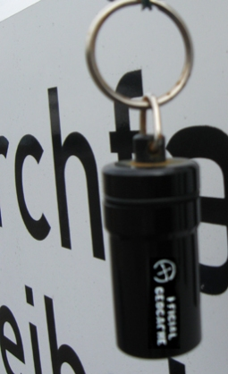 GeoCaching Nanocache mit Schraubverschluss