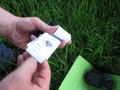 GeoCaching - Micro Filmdose