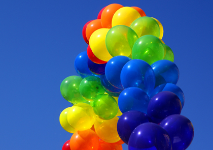 Ballons - Geocaching - Blogparade