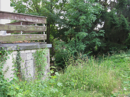 Geocaching: Lostplace - verfallener Balkon