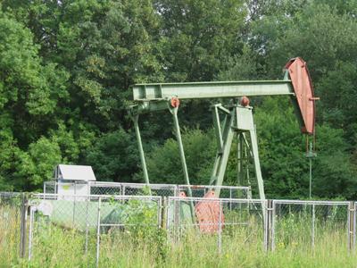 Ausgediente Ölförderanlage auf dem Kühkopf - Earthcache